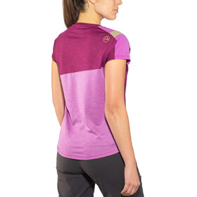 La Sportiva W's TX Combo Evo T-Shirt Plum/Purple